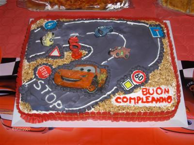 cars compleanno