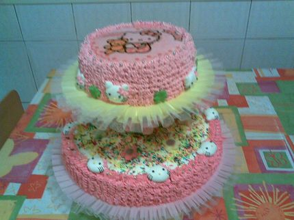 An other Hello kitty cake for special birthday party
