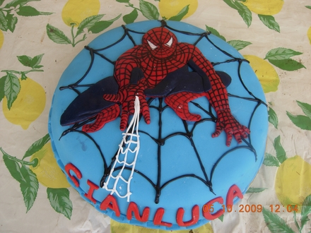 Spiderman Birthday Cake on This Spiderman Cakes Ware Prepared By Costanza Dedicated To Giancula
