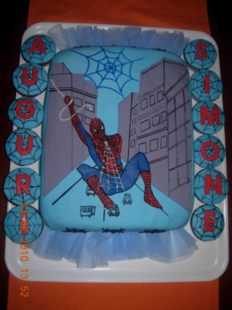 Torta Spiderman Blogdolci