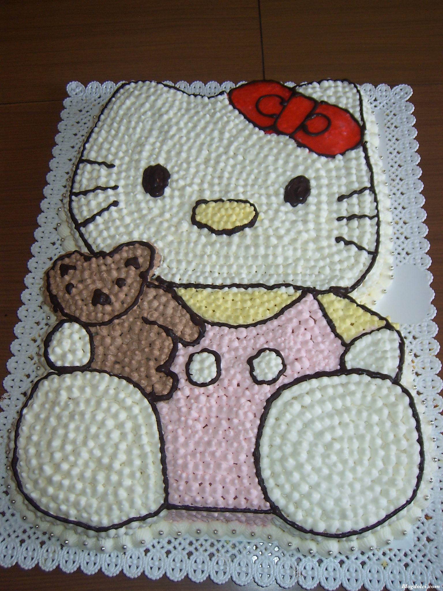 hello kitty la torta