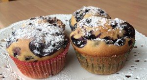 muffin mirtillo e yogurt